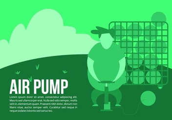 Ball Boy Air Pump Background - Free vector #426481