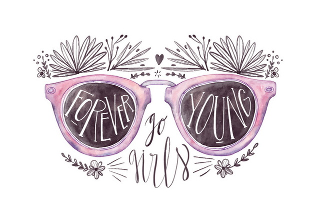 Free Sunglasses Quote - Kostenloses vector #426781