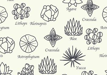 Botanical Pattern - бесплатный vector #426891