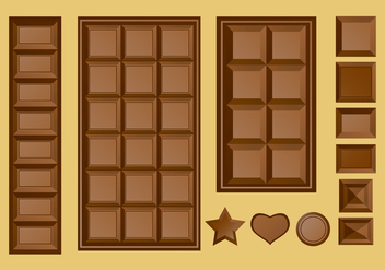 Chocolate Bar - vector gratuit #426911