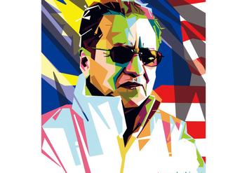 Tun Mahathir WPAP Vector - Free vector #427331