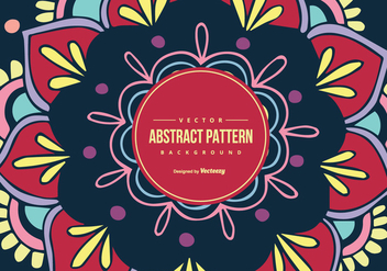 Colorful Abstract Pattern Background - vector gratuit #427381