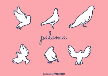 Paloma Vector - vector gratuit #427761