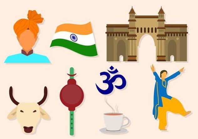 Free India Vectors - vector gratuit #427841