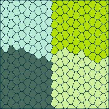 Vector illustration of abstract ornamental green color background made of stones - Free vector #126031
