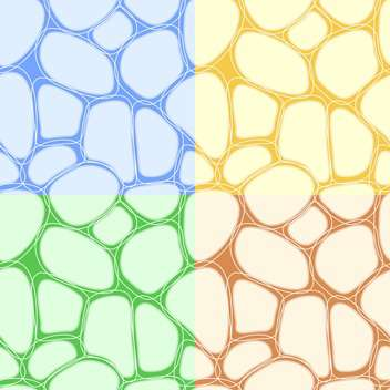Abstract colorful vector background with stones - vector #126831 gratis