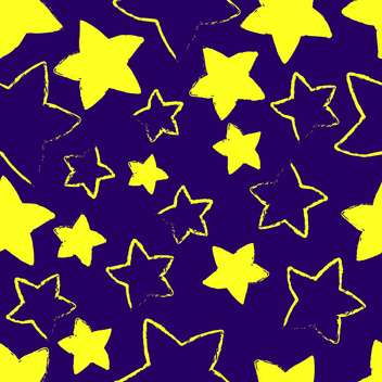 Vector blue background with yellow stars - Free vector #127281