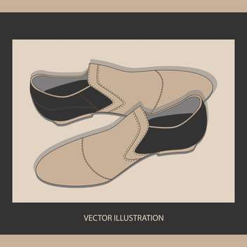 male shoes vector background - vector #129141 gratis