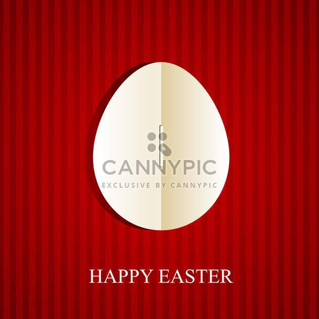 Happy easter greeting card - Kostenloses vector #130401