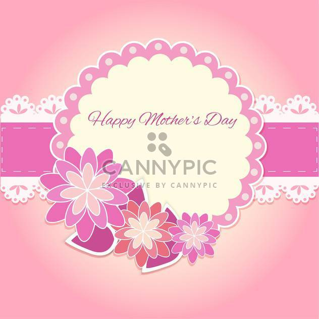 Happy mother day background - Free vector #130571