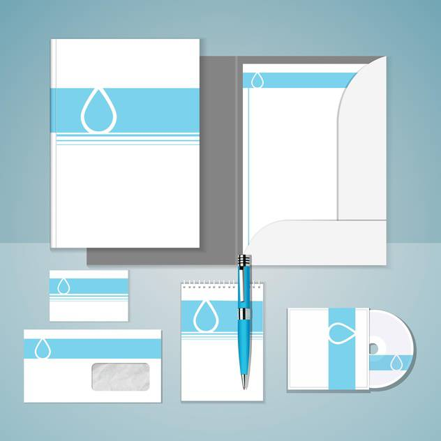 Set of templates for corporate identity - бесплатный vector #131141