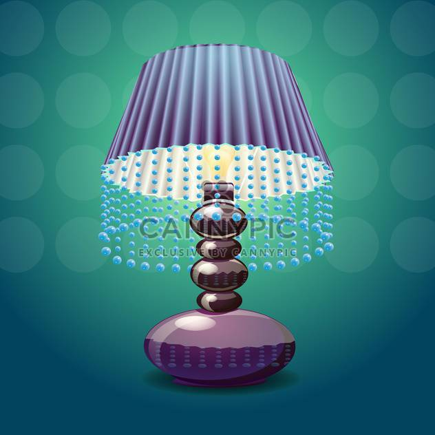 Vector image of the lamp shade - Free vector #131531
