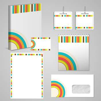 Professional corporate identity kit - бесплатный vector #131611