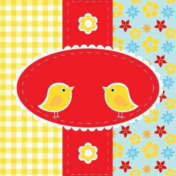 vector greeting card background - vector #132481 gratis