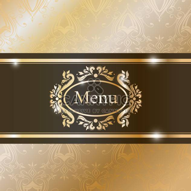 illustration of graphic element for menu - Free vector #132551