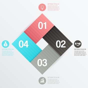 business process steps background - Free vector #132971