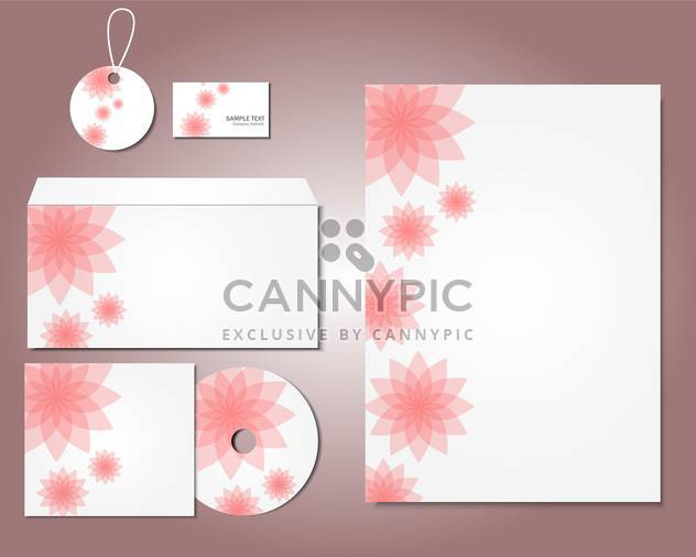 selected corporate templates background - Free vector #133241