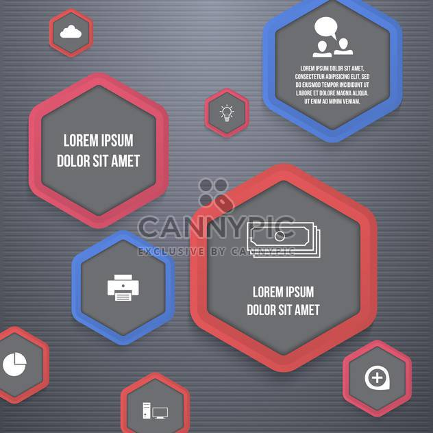 Vektor Business Icons Set - Kostenloses vector #133371
