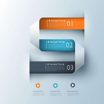 vector elements of business infographics - vector #133491 gratis