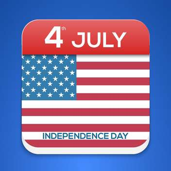 american independence day background - vector gratuit #133891