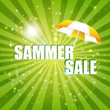 summer shopping sale illustration - Free vector #133971