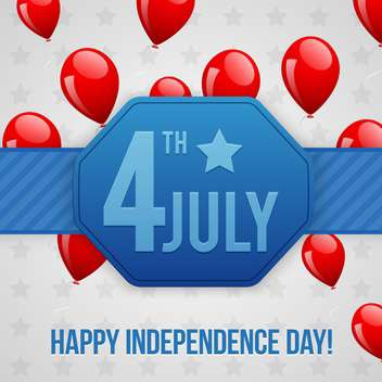 american independence day background - vector gratuit #134431