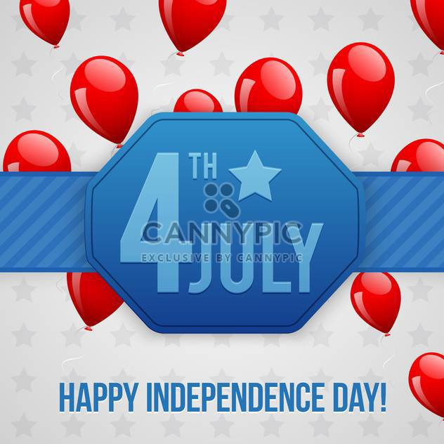 american independence day background - Free vector #134431