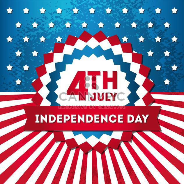 Usa Independence Day Symbols Free Vector Download 134501 Cannypic