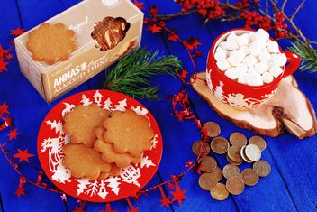Cookies and marshmallows - image #136331 gratis