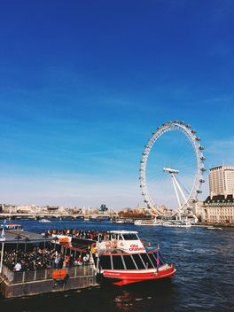 View of The London Eye, England - Kostenloses image #136451