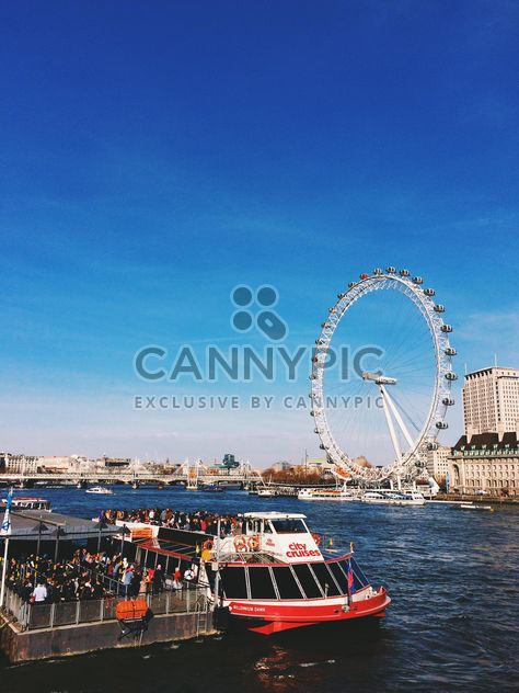 View of The London Eye, England - Free image #136451