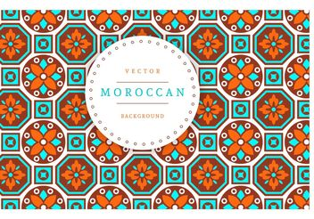 Free Moroccan Vector Background - бесплатный vector #138771