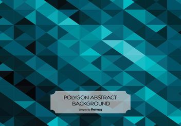 Abstract Polygon Style Background - vector gratuit #138781