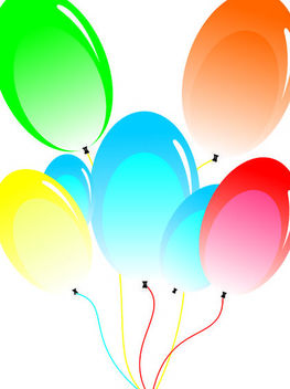 Balloon - vector #139541 gratis