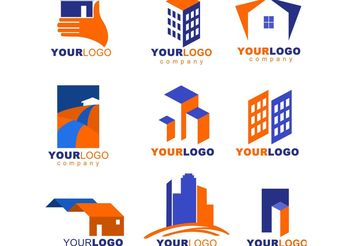 Real Estate logos - vector #139591 gratis