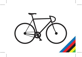 Track Bike - vector #139601 gratis