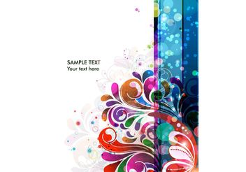 Abstract Background Vector Colorful Background - Free vector #139641