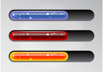 Shiny Loading Bars - vector #139881 gratis