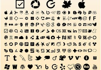 Website Icons - vector gratuit #139911