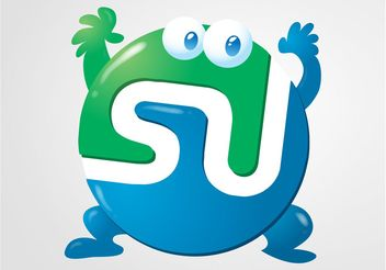 StumbleUpon Vector - vector gratuit #140231