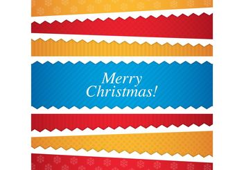 Christmas Card 01 - vector gratuit #140271