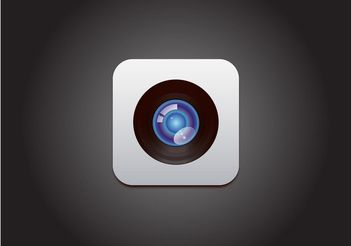 Apple Camera Vector - vector gratuit #140511