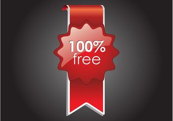 Free Label - vector #140541 gratis