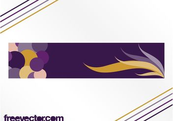 Abstract Vector Banner - Free vector #140671