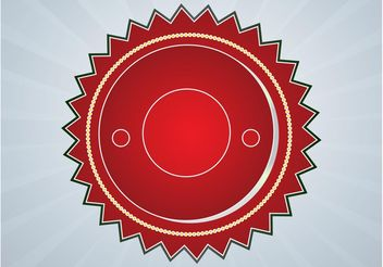 Retro Badge - vector gratuit #140691
