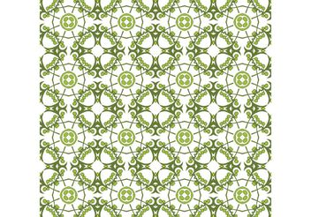 Vector Floral Wallpaper - Kostenloses vector #141411