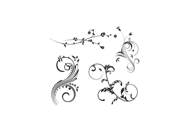 Vector Flourish Free Pack - Free vector #141521