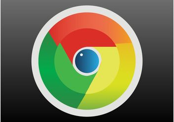 Google Chrome Logo - Free vector #141791