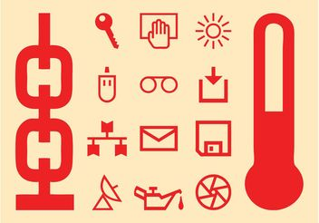 Icon Set Graphics - Free vector #142001