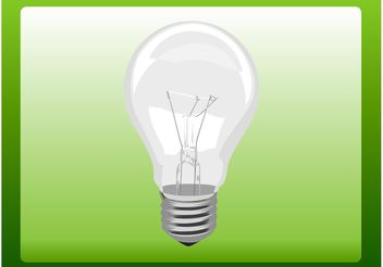 Lightbulb Icon - vector #142031 gratis
